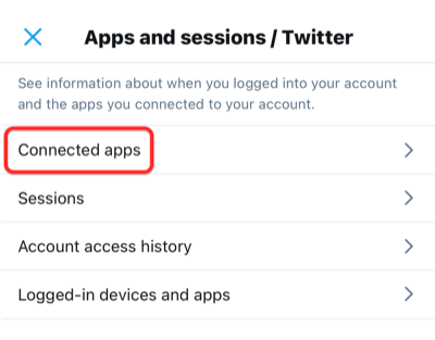 revoke access to clubhouse from twitter step-3